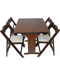 5099C-Bürocci Kırma Masa Sandalye - Masa Grubu - Bürocci